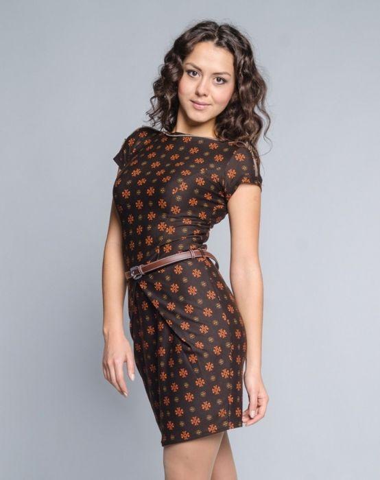 5deb3c77737d Красивые, молодежные, трикотажные, повседневные платья недорогого  производства
