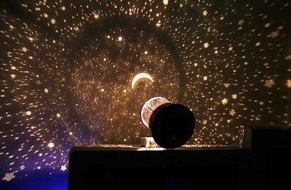 Проектор звёздное небо новый без